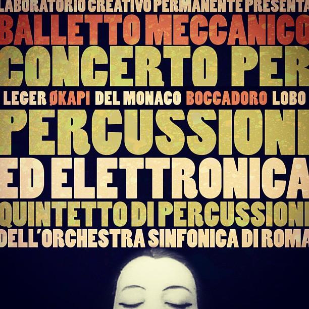 Balletto Meccanico Laboratorio Creativo Permanente