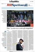 New ghetto songs at RomaEuropa festival and Nuova Consonanza